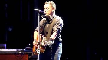 watch: bruce springsteen covers lorde's royals