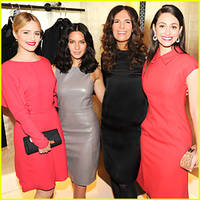 olivia munn & dianna agron heats up martin scorsese oscars celebration!